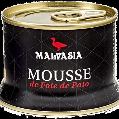 MALVASIA Mousse de Foie Gras de Pato 130g
