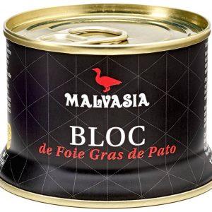 MALVASIA Bloc de Foie Gras de Pato 130g