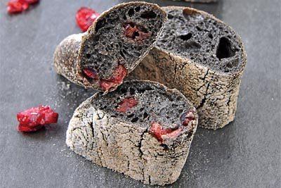 Baguette Sepia-Cranberry €/Stück