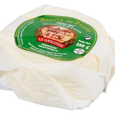 Le Gaslonde Beurre de Baratte demi-sel 250g