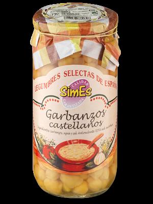 SIMES Garbanzos castellanos 660g