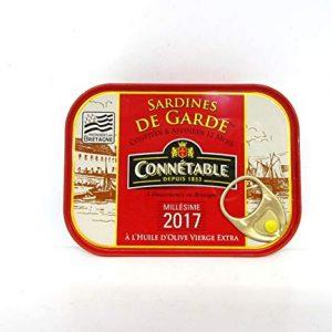 Jahrgangs Sardinen Connetable 2017 Frankreich  115g