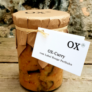 OX Curry vom Label Rouge Perlhuhn 400g