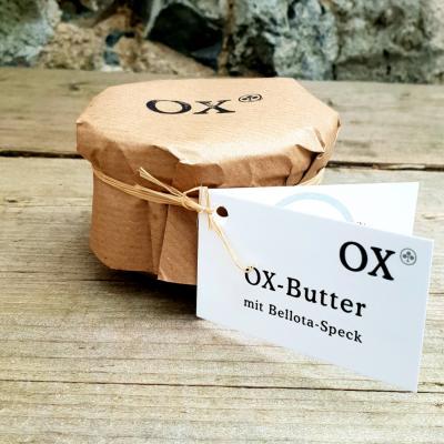 OX-Butter mit Bellota-Speck 150g