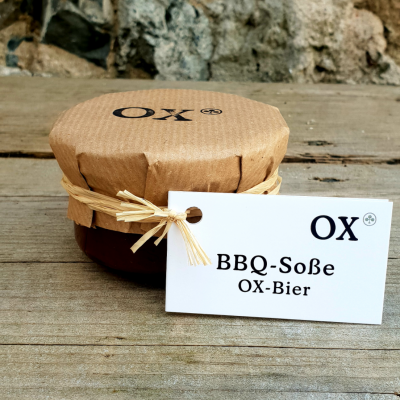 BBQ Soße, OX-Bier 150g