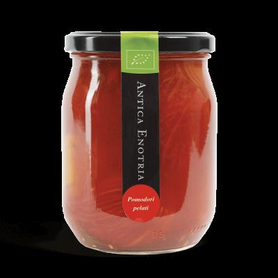 geschälte Tomaten in Salzlake 580ml
