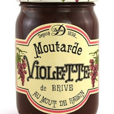 Violetter Senf, Moutarde Violette, 200 g