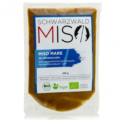Miso Mare Paste, mit Meeresalgen, Bio, 220 g