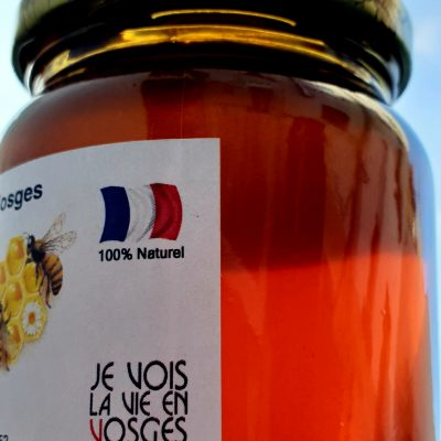 Miel de forêt des Vosges 2020, 500g